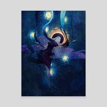 Dusk - Canvas by Gillian Grossman
