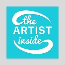 The Artist Inside Logo - Canvas by Ethan Vuilleumier