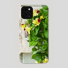 Flowers in the yard - Phone Case by Geraldas Galinauskas
