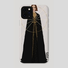 Natalie - Phone Case by Lola Rodriguez