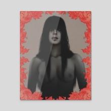 Apparition  - Acrylic by Andre De Freitas