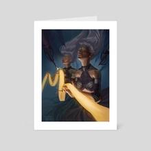 Decryptor - Art Card by Tamires Para