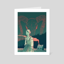 The Witch - Art Card by Tom Humberstone