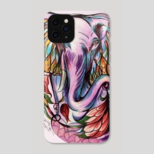 Fatima Elephant - Phone Case by Hannah Maria