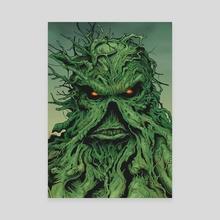 Swamp Thing - Canvas by Sergey Gaidai