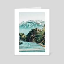 Road To Heaven - Art Card by 83 Oranges