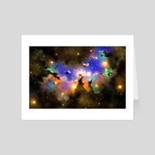 Nebula - Art Card by Juan Carlos Guzmán