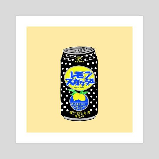 Lemon Soda by Merlin Mannelly