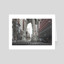 Star wars - New York - Art Card by Andres Sc