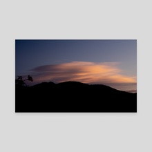 Pajarito Clouds - Canvas by Brian George