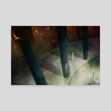Priestess - Canvas by Faryn Hughes