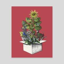 CHRISTMAS TREE - Canvas by Gloria Sánchez