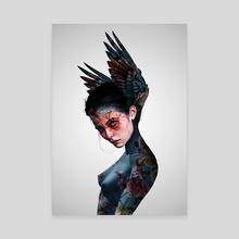 Hybrid Creature - Canvas by Laura H. Rubin