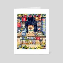 Yogurt the Shopkeeper - Art Card by Sandy Wu