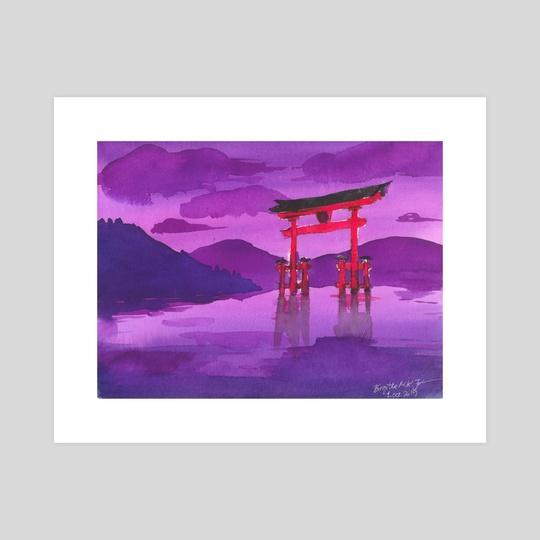 Itsukushima Shrine by Birgitte Johnsen