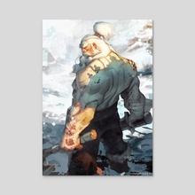 Einar - Acrylic by Johannes Helgeson
