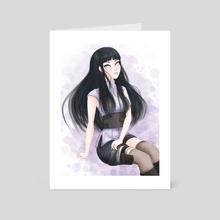 Hinata - Art Card by vulpinks 狐墨