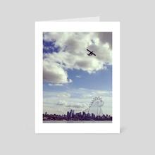 Seattle Monster - Art Card by Noelle Gravlee