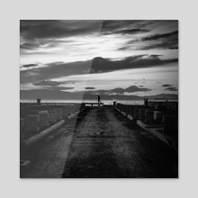 Walker - Acrylic by Metallus [Panagiotis Metallinos]