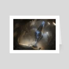 MTG - Perilous Vault - Art Card by Sam Burley