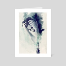 January - Art Card by Nykolai Aleksander