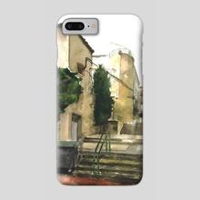 Downtown Street - Phone Case by Araceli Quirós Martínez