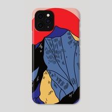 Mountains - Phone Case by Melinda Magyar