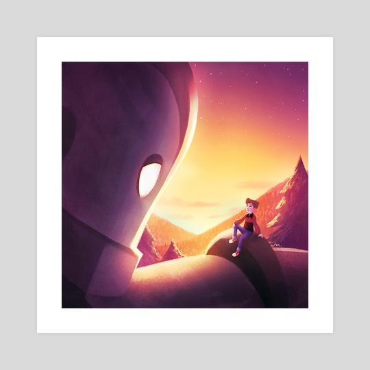 The Iron Giant by Sarah Marino