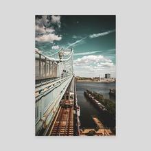 Venture Outbound - Canvas by Ken Black