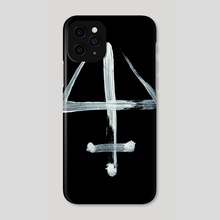 Alchemical Symbols - Oil Essence Inverted - Phone Case by Wetdryvac WDV