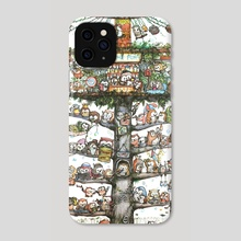 Owl Tree - Phone Case by Owl_Eng Art