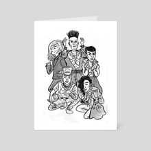 K-Pop – Big Bang - Art Card by Frederick Noland