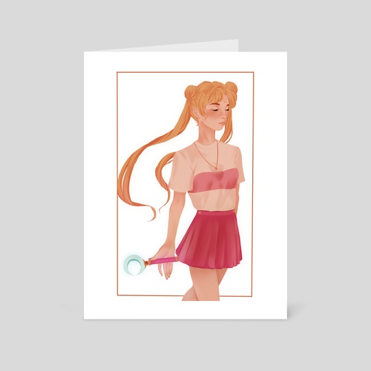 Sailor Moon by Hannah Walker