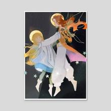 angel's waltz [tos] - Acrylic by idledee