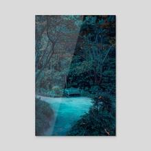 The Garden of Dreams - I - Acrylic by Matthieu Buehler