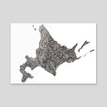 Hokkaido - Acrylic by Joana Lourenço