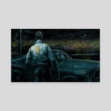 DRIVE - Canvas by Vincent Nappi