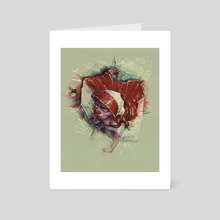Polska2 - Art Card by Daniel Grzeszkiewicz