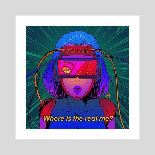 Where is the real me? by Lucas Mendonça