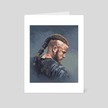 Ragnar - Art Card by Candra Hope