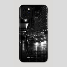 NYC Noir 005 - Phone Case by Nikita Abakumov