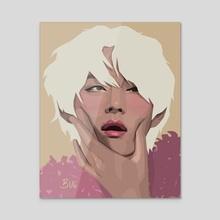 Tae - Acrylic by Jovana Stekovic