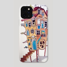 Noisy neighbours - Phone Case by Yevgeniya Nyrkova Kizilkaya