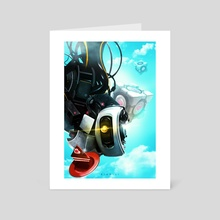 GLaDOS - Art Card by Ridd Li