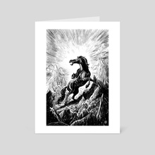 Forgotten God - Art Card by André Caetano