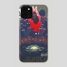 Cat Graveyard - Phone Case by cosmicloak