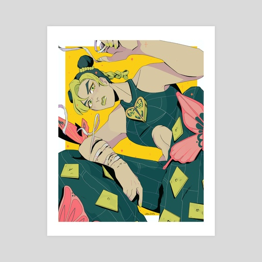 Jolyne Cujoh by Loren Davis