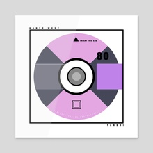 Yandhi CD - Acrylic by Vinay Bakshi