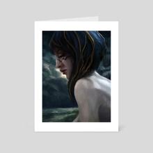 Lena - Art Card by Eric Paints