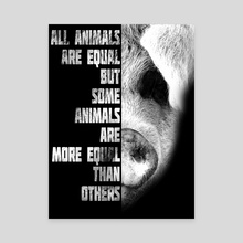 Animal Farm - Canvas by Ashley Wann